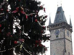 Vánoce na Staroměstském náměstí