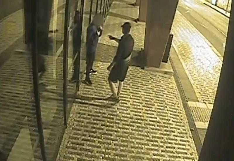 Přepadení v Michelské ulici.