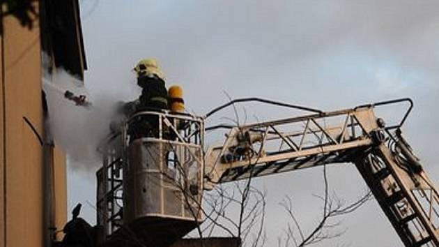 Zásahy hasičů v Praze