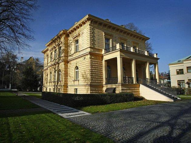 Pelléova vila v Praze.