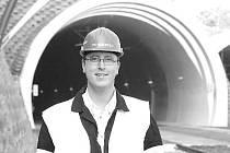 David Cyroň a tunel
