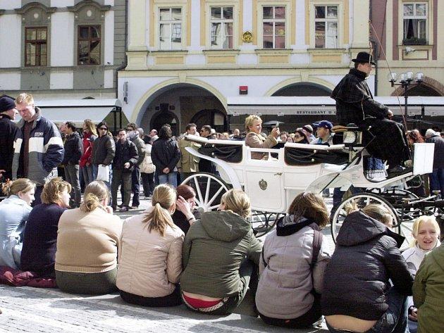 Ilustrační foto. Turistika v Praze.