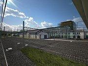 Podoba železničního muzea na Masarykově nádraží se začíná rýsovat.