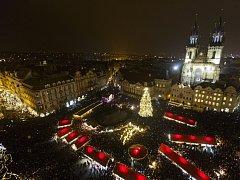 Pražské Staroměstské náměstí