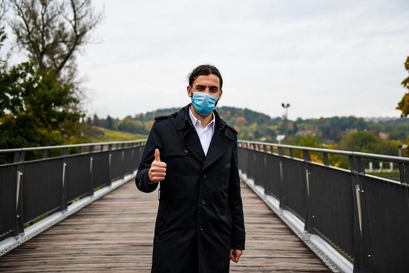 Praha otevřela novou Trojskou lávku.