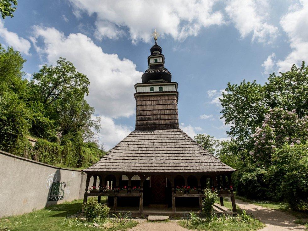 Kostelík sv. Michala na Petříně.