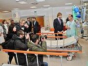 Provoz nového oddělení Urgentního příjmu pražské Nemocnice Na Bulovce byl slavnostně zahájen.