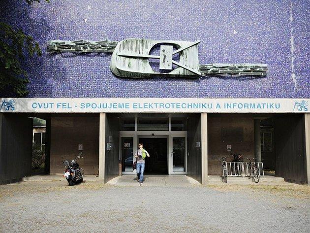 Fakulta elektrotechnická ČVUT.