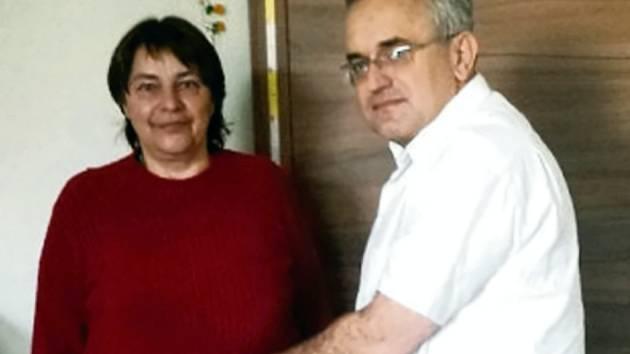 Hana Klacková a Leoš Středa.