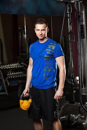 Lukáš Kverka, vedoucí fitness vareálu Aquaparku Čestlice