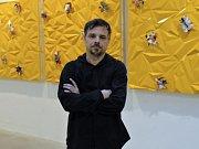 Intermediální umělec Jiří Černický.