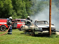 TATROVKA NA CESTĚ. Úvalští dobrovolní hasiči si na nedostatek práce nemohou stěžovat, od září by jim měla práci usnadnit nová Tatra 815 4x4.2.