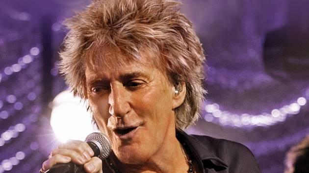 Britský zpěvák Rod Stewart.
