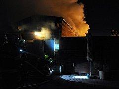 Požár vysočanského hotelu vypukl v sauně