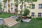 Mezi domy v Baranově a Sudoměřské ulici na Žižkově vznikl komunitní vnitroblok.