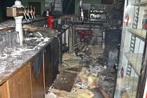 Požár lednice způsobil škodu za 4,5 milionu korun.