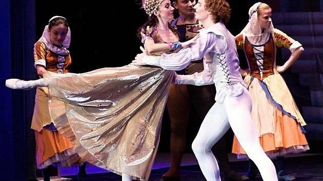 V pondělí vystoupil v Kongresovém centru Moscow city balet s představením Romeo a Julie.