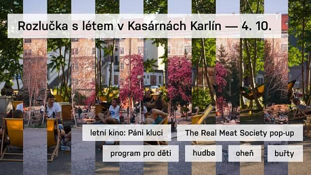 Karlínská Kasárna zavírají  letní sezonu.