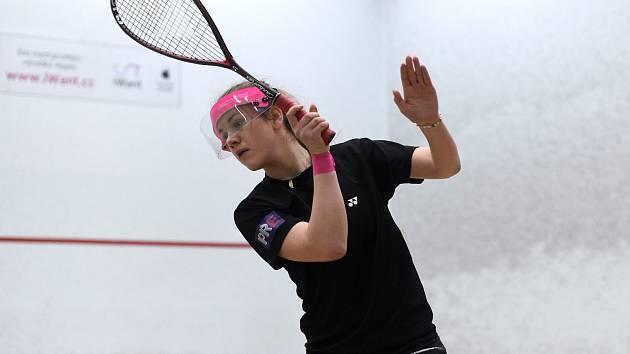 Talentovaná squashistka Kristýna Fialová.