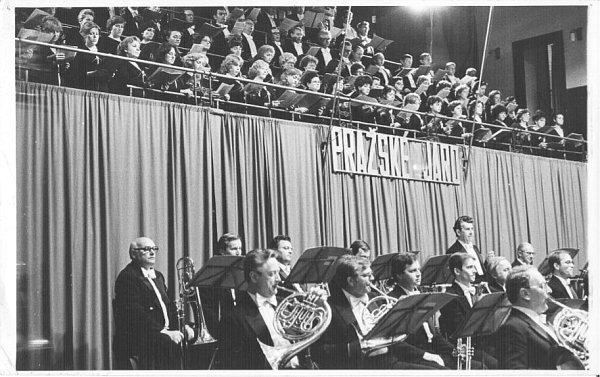 Společné vystoupení na Pražském jaru 1983