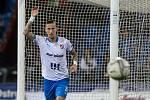 Utkání 6. kola fotbalové Fortuna ligy: FC Baník Ostrava - Slavia Praha, 4. října 2020 v Ostravě. Jiří Fleišman z Ostravy.