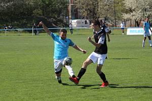Fotbalové utkání mezi Prague Raptors a Prosexem.