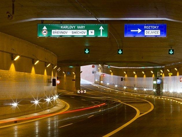 Dejvický tunel. Ilustrační foto.