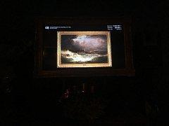 Ajvazovského Bouře na moři.