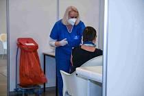 Metropolitní očkovací centrum funguje v pilotním režimu.