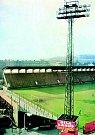 Stadion Ďolíček v Praze Vršovicích. 70. léta.