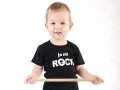 Obchod s originálním dětským oblečením se značkou Little Rock Star vykradl zloděj