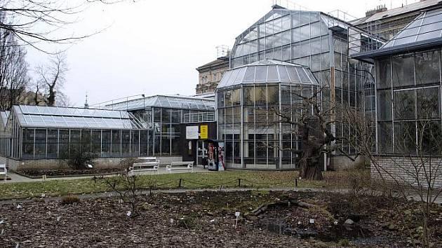 Botanická zahrada Na Slupi.