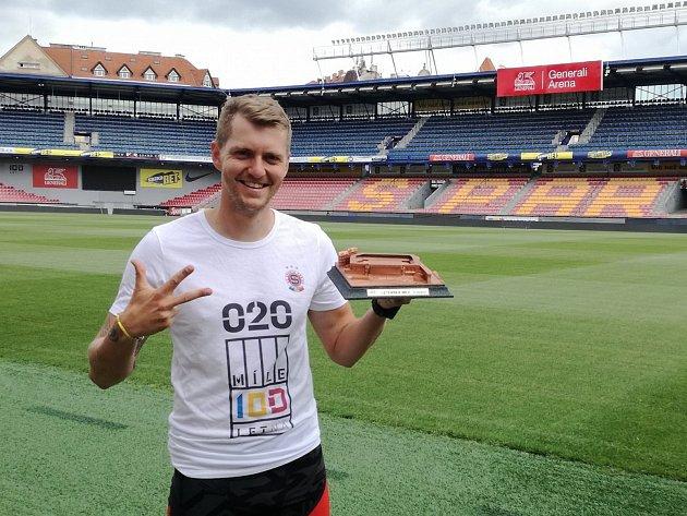Kutnohorák Michal Pavlík si doběhl pro bronz na Letenské míli.