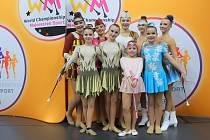 Mistrovství světa v mažoretkovém sportu 2021 ve sportovní hale Královka v Praze.