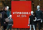 Povánoční slevy a výprodeje v Praze 27.prosince.