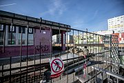 Rekonstrukce nákupní rampy na Opatovské ulici na pražském Jižním Městě