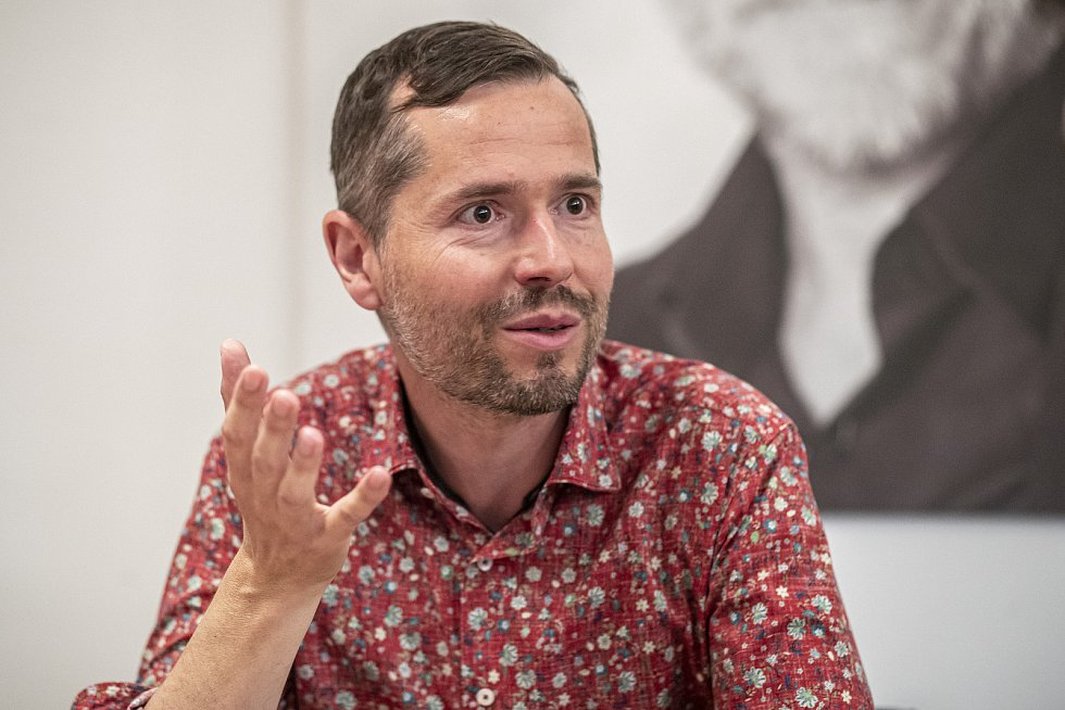 Michal Hrubý, majitel a producent Studia DVA, poskytl 15. července 2020 v Praze rozhovor Deníku.