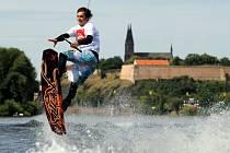 Druhý ročník wakeboardové akce Quiksilver Wakejam 2009 v pražských O2 Žlutých lázních.