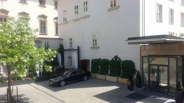 Hotel Mandarin Oriental v Praze.