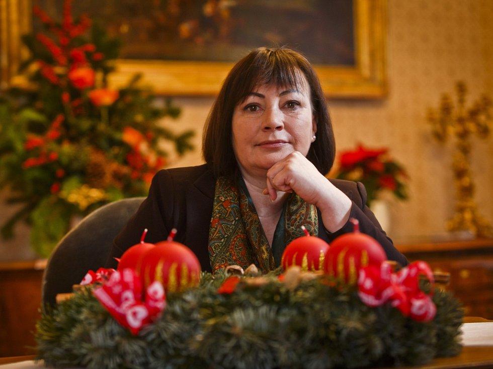 Ivana Zemanová.