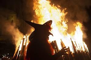 Pálení čarodějnic - ilustrační foto