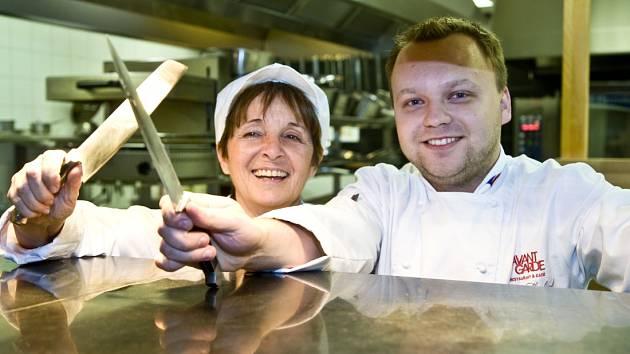 Reine Sammut, francouzská šéfkuchařka.