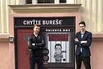 Úniková hra Chyťte Bureše v Praze.