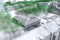 Správa železniční dopravní cesty (SŽDC) ukázala novou podobu bývalé plicní kliniky na pražském Žižkově, kterou okupovali squatteři.