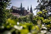 Pražský hrad 31. května v Praze. Královská zahrada.