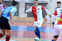 III. zápas čtvrtfinále play off Chance futsal ligy: SK Slavia Praha - SK Interobal Plzeň 5:0 (1:0), 25. dubna 2016.