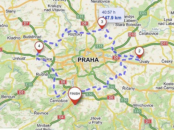 Magistrátní Institut plánování a rozvoje (IPR Praha) označil nejvzdálenější místa metropole.