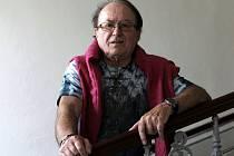 Muzikant Petr Janda.