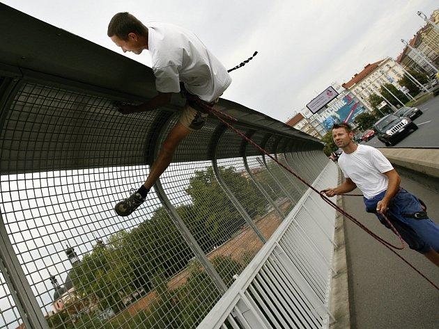 Ilustrační foto z Nuselského mostu v Praze.