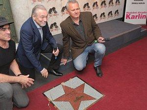 Odhalení Hvězdy Karla Gotta